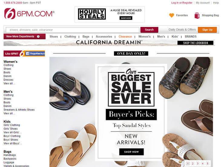 605c3a7110a583 6pm - мультибрендовый стоковый интернет-магазин, в котором с большими  скидками можно купить одежду и обувь как недорогих «народных» марок,  например, UGG, ...